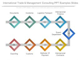 International Trade And Management Consulting Ppt Examples Slides