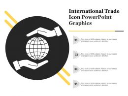 International Trade Icon Powerpoint Graphics