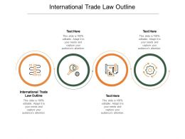 International Trade Law Outline Ppt Powerpoint Presentation Inspiration Cpb