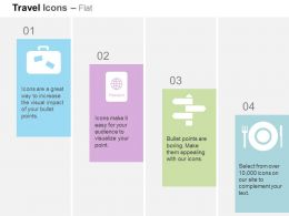 international_trip_passport_directional_boards_restaurant_ppt_icons_graphics_Slide01