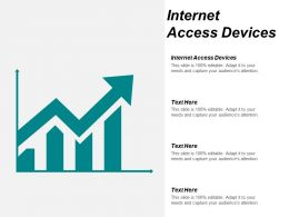 Internet Access Devices Ppt Powerpoint Presentation Gallery Images Cpb