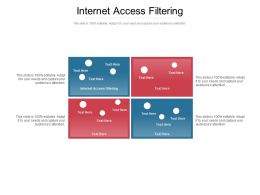 Internet Access Filtering Ppt Powerpoint Presentation Inspiration Design Templates Cpb