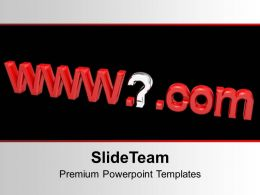Internet Address Computer Host Name PowerPoint Templates PPT Themes And Graphics 0213