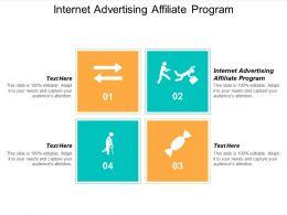 Internet Advertising Affiliate Program Ppt Powerpoint Presentation Model Styles Cpb