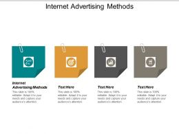 Internet Advertising Methods Ppt Powerpoint Presentation Show Cpb