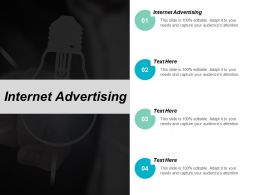 Internet Advertising Ppt Powerpoint Presentation File Outfit Cpb