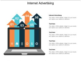 Internet Advertising Ppt Powerpoint Presentation Inspiration Show Cpb