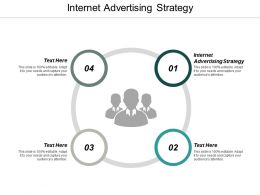 Internet Advertising Strategy Ppt Powerpoint Presentation Infographic Template Layouts Cpb