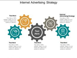 Internet Advertising Strategy Ppt Powerpoint Presentation Slides Cpb