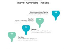 Internet Advertising Tracking Ppt Powerpoint Presentation File Objects Cpb