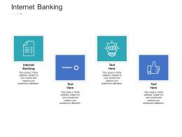 Internet Banking Ppt Powerpoint Presentation Layouts Deck Cpb