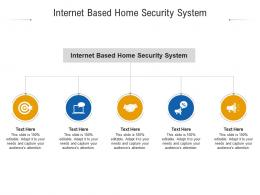 Internet Based Home Security System Ppt Powerpoint Presentation Icon Cpb