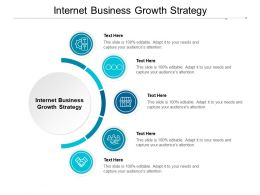 Internet Business Growth Strategy Ppt Powerpoint Presentation Styles Visuals Cpb