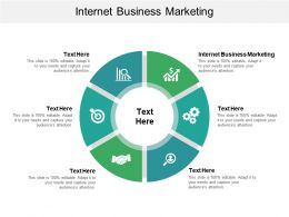 Internet Business Marketing Ppt Powerpoint Presentation File Format Cpb