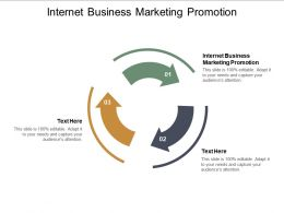 Internet Business Marketing Promotion Ppt Powerpoint Presentation Gallery Cpb