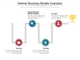 Internet Business Models Examples Ppt Powerpoint Presentation Summary Master Slide Cpb