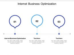 Internet Business Optimization Ppt Powerpoint Presentation Background Cpb