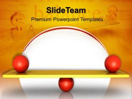 Internet Business Strategy Powerpoint Templates Balance Between Sales Ppt Slides