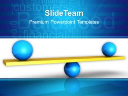 Internet Business Strategy Powerpoint Templates Balanced Graphic Ppt Slides