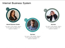 Internet Business System Ppt Powerpoint Presentation Infographic Template Design Templates Cpb