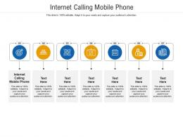 Internet Calling Mobile Phone Ppt Powerpoint Presentation Tutorials Cpb