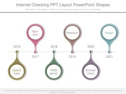 Internet Checking Ppt Layout Powerpoint Shapes