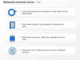 Internet Communication Power Backup Ppt Icons Graphics