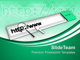 Internet Concept Technology PowerPoint Templates PPT Themes And Graphics 0213
