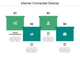 Internet Connected Devices Ppt Powerpoint Presentation Pictures Styles Cpb