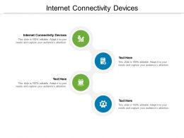 Internet Connectivity Devices Ppt Powerpoint Presentation Slides Templates Cpb