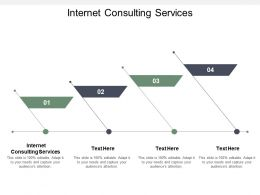 Internet Consulting Services Ppt Powerpoint Presentation Ideas Design Inspiration Cpb