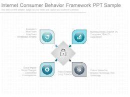 Internet Consumer Behavior Framework Ppt Sample
