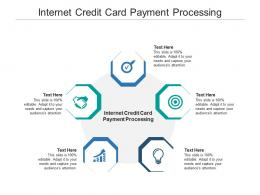 Internet Credit Card Payment Processing Ppt Powerpoint Presentation Ideas Slide Cpb