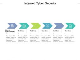 Internet Cyber Security Ppt Powerpoint Presentation Infographics File Formats Cpb