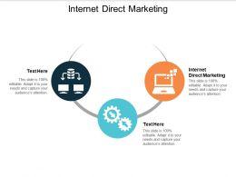 Internet Direct Marketing Ppt Powerpoint Presentation Ideas Graphics Tutorials Cpb