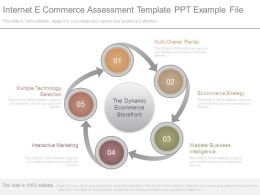 Internet E Commerce Assessment Template Ppt Example File