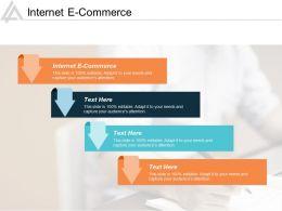 Internet E Commerce Ppt Powerpoint Presentation Infographics Inspiration Cpb