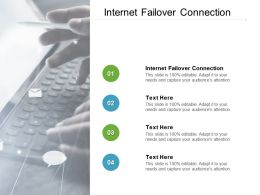 Internet Failover Connection Ppt Powerpoint Presentation Model Example Topics Cpb