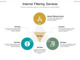 Internet Filtering Services Ppt Powerpoint Presentation Slides Topics Cpb