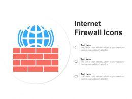 Internet Firewall Icons