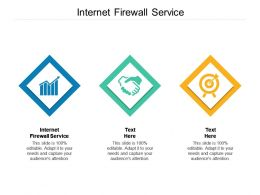 Internet Firewall Service Ppt Powerpoint Presentation File Slide Download Cpb