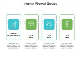Internet Firewall Service Ppt Powerpoint Presentation Model Outfit Cpb
