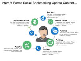 Internet Forms Social Bookmarking Update Content Email Marketing