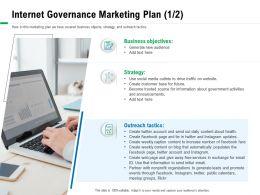 Internet Governance Marketing Plan M2858 Ppt Powerpoint Presentation Inspiration Vector