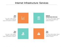 Internet Infrastructure Services Ppt Powerpoint Presentation Layouts Brochure Cpb
