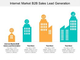 Internet Market B2B Sales Lead Generation Ppt Powerpoint Presentation Summary Layouts Cpb