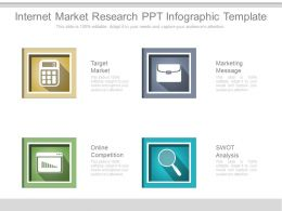 internet market research ppt infographic template