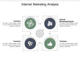 Internet Marketing Analysis Ppt Powerpoint Presentation Portfolio Background Cpb
