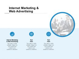 Internet Marketing And Web Advertising Ppt Powerpoint Presentation Icon Background Designs Cpb