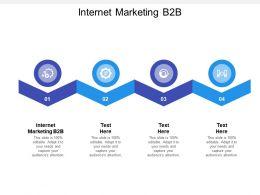 Internet Marketing B2B Ppt Powerpoint Presentation Styles Aids Cpb